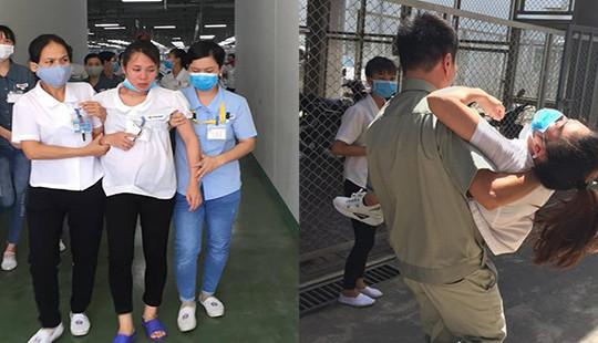 Hàng chục công nhân khó thở và bị ngất khi hít phải mùi lạ