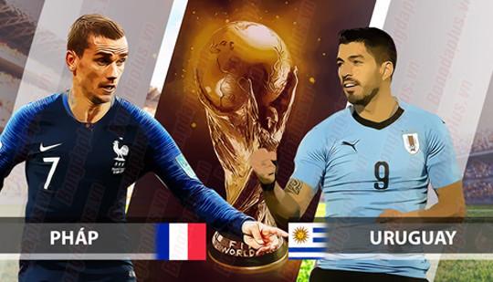 Pháp đối đầu Uruguay: Chưa biết mèo nào cắn mỉu nào