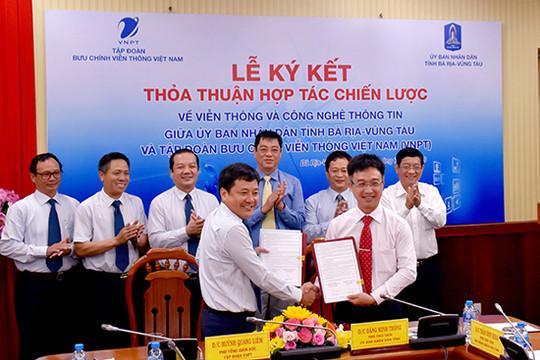 VNPT và UBND tỉnh Bà Rịa - Vũng Tàu trở thành đối tác chiến lược trong lĩnh vực VT- CNTT