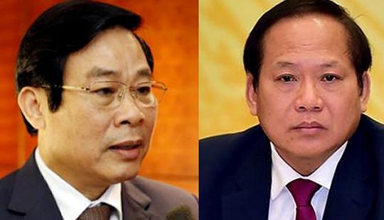 Bộ Chính trị quyết định kỷ luật hai ông Trương Minh Tuấn, Nguyễn Bắc Son