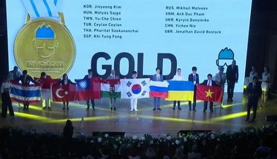 Việt Nam giành 4 huy chương tại kỳ thi Olympic Hóa học quốc tế 2018