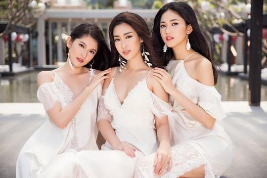 Top 3 Hoa hậu Việt Nam 2016 xinh đẹp, thướt tha giữa biển trời Đà Nẵng