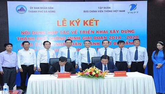 Tập đoàn VNPT và thành phố Đà Nẵng hợp tác phát triển đô thị thông minh
