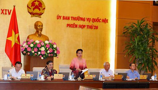 Khai mạc Phiên họp thứ 26: UBTVQH thảo luận về dự án Luật Đặc xá (sửa đổi)