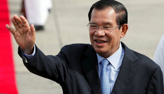 Việt Nam chúc mừng ông Hun Sen được bổ nhiệm làm Thủ tướng Campuchia
