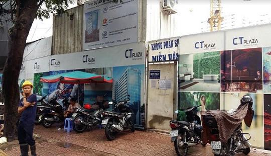 """Lùm xùm tại dự án C.T PlaZa Minh Châu: Thầu chính và thầu phụ """"tố"""" nhau"""