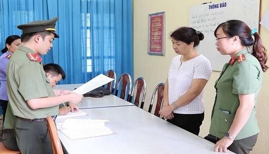 Thêm một Phó phòng khảo thí Sở GD&ĐT Sơn La bị khởi tố