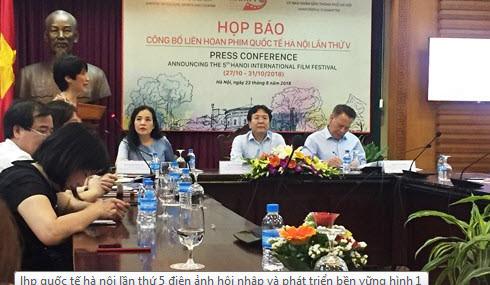 """LHP Quốc tế Hà Nội lần thứ 5: """"Điện ảnh - Hội nhập và phát triển bền vững"""""""