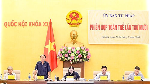 Dự thảo Luật Thi hành án hình sự  Đã thống nhất trình Quốc hội tại kỳ họp thứ 6