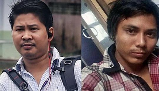 Cộng đồng quốc tế kêu gọi Myanmar trả tự do cho hai phóng viên Reuters
