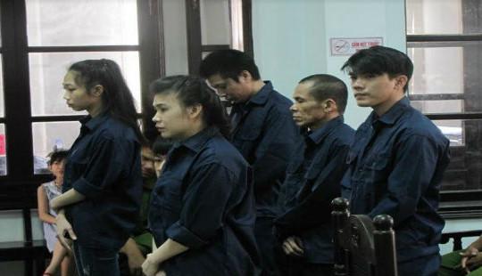 5 bị cáo chia nhau hơn 41 năm tù vì ma túy