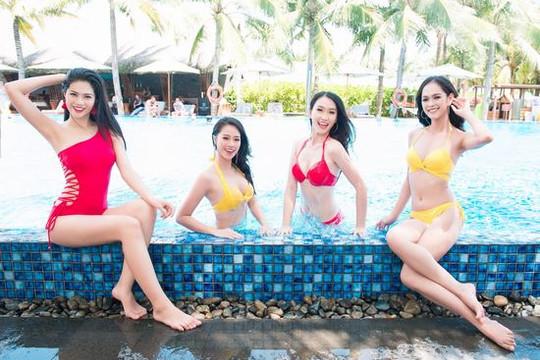 """Thí sinh HHVN 2018 phô diễn đường cong """"triệu đô"""" trong trang phục bikini"""