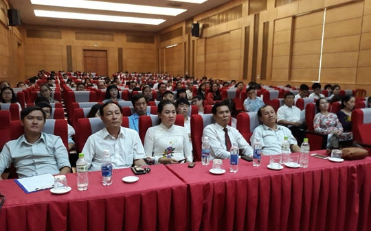 Học viện Tư pháp cơ sở TP. HCM khai giảng lớp đào tạo nghiệp vụ Luật sư khóa 19.2
