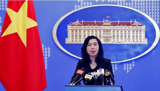 Người phát ngôn Bộ Ngoại giao giải đáp hai vấn đề diễn ra trên Biển Đông