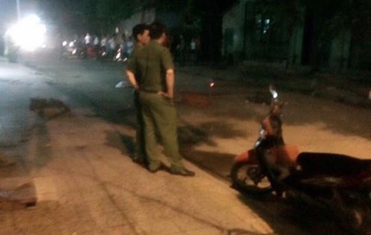 Nam thanh niên bị chém gục giữa đường trong đêm