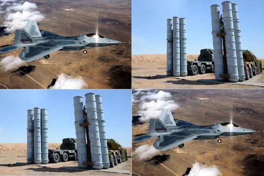 """""""Chiến thần bất bại"""" F-22: Đối thủ tiềm năng của S-300 tại mặt trận Syria?"""