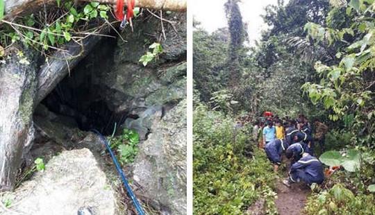 Ba người đàn ông tử vong do ngạt khí độc trong hang đá tự nhiên