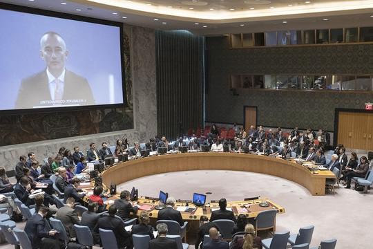 """Trung Đông - Palestine lại """"nóng"""" trên bàn nghị sự HĐBA LHQ"""