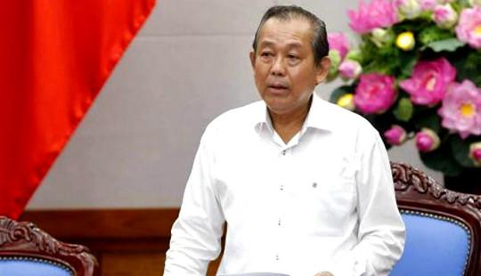 Phó Thủ tướng: Xem xét trách nhiệm việc để tồn đọng 32 bản án có hiệu lực pháp luật chưa thi hành