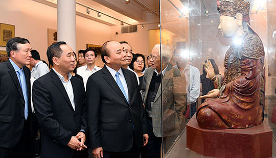 Bảo tàng Mỹ thuật Việt Nam cần nỗ lực hơn để quảng bá nghệ thuật của Việt Nam