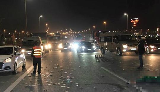 Nam thanh niên thiệt mạng sau va chạm giao thông trên cầu Nhật Tân