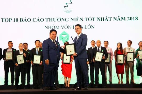 Novaland là thương hiệu BĐS duy nhất được vinh danh trong Lễ trao giải cuộc bình chọn doanh nghiệp niêm yết 2018