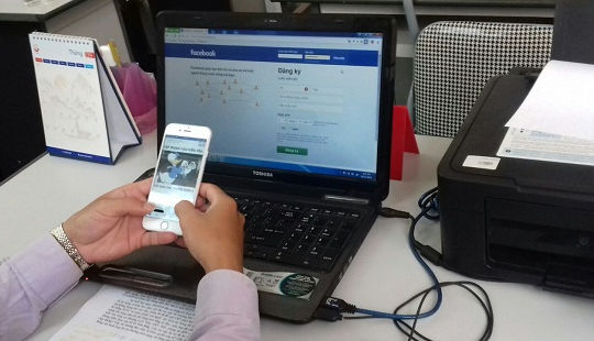Hack tài khoản Facebook rồi lừa đảo chiếm đoạt tài sản