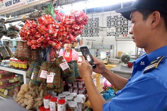 VNPT và Đà Nẵng thí điểm dán tem truy xuất nguồn gốc thực phẩm