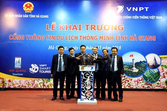 VNPT chính thức khai trương cổng thông tin du lịch thông minh tại Hà Giang, Cao Bằng