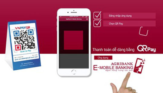 Thanh toán QR Pay - Giải pháp thanh toán công nghệ 4.0 của Agribank