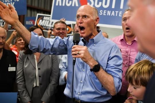 Bầu cử giữa nhiệm kỳ Mỹ: Bang Florida yêu cầu kiểm phiếu lại bằng tay