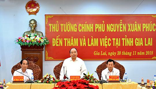 """Thủ tướng """"quyết"""" hỗ trợ ngay cho làng đồng bào dân tộc khó khăn của Gia Lai"""