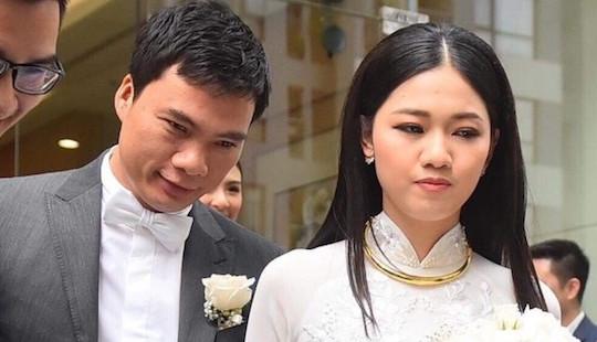 Cận cảnh lễ rước dâu Á hậu Thanh Tú và chồng đại gia U40