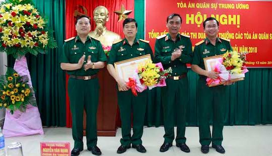 Tòa án quân sự Trung ương: Các Tòa án quân sự đã hoàn thành xuất sắc nhiệm vụ được giao