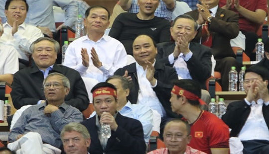 Thủ tướng gửi thư khích lệ đội tuyển bóng đá nam Việt Nam