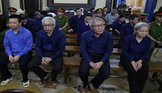 """Xét xử vụ án tại ngân hàng Đông Á: Nói lời sau cùng, Vũ """"nhôm"""" tiếp tục kêu oan"""