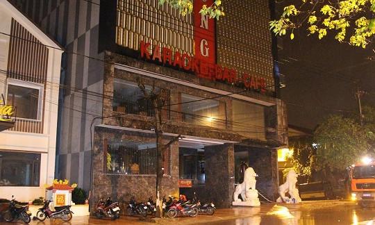 Cháy quán karaoke King Club lớn nhất Quảng Trị