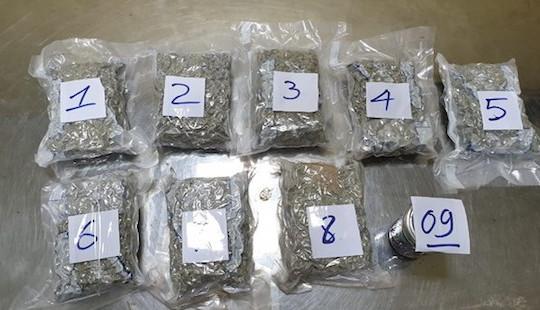 Bắt 2,3 kg ma tuý ngụy trang tinh vi từ Mỹ về Việt Nam