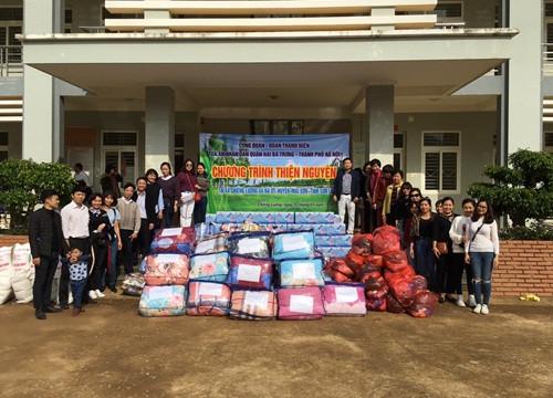 TAND quận Hai Bà Trưng, Hà Nội làm tốt công tác xã hội từ thiện
