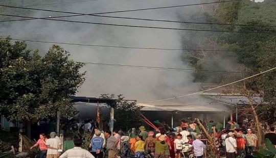 Cháy quầy tạp hóa, bé gái 3 tuổi tử vong