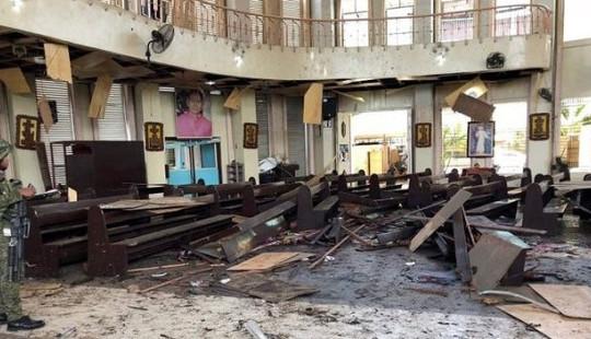 Đánh bom kép nhà thờ Philippines: IS nhận trách nhiệm