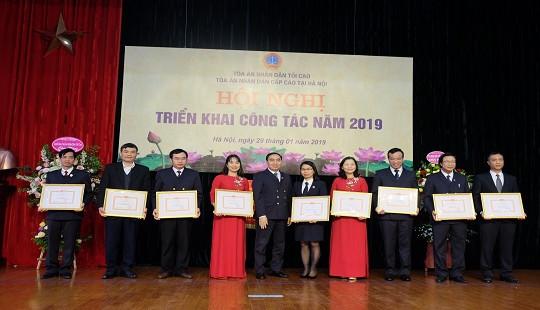 TAND cấp cao tại Hà Nội tổ chức Hội nghị triển khai công tác năm 2019