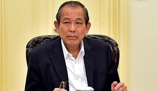 Phó Thủ tướng chỉ đạo xem xét, xử lý trách nhiệm đối với nguyên Chủ tịch UBND huyện Hoài Đức