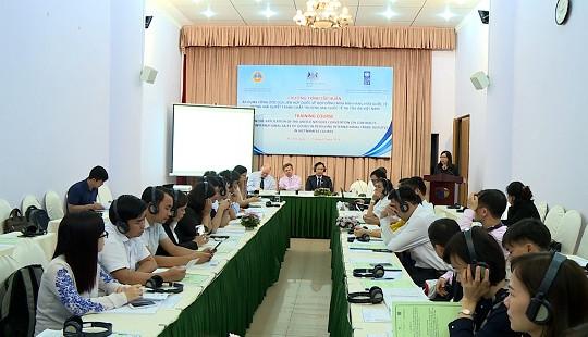Hội thảo về áp dụng Công ước của LHQ trong giải quyết tranh chấp thương mại quốc tế tại Tòa án
