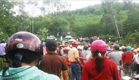 Bình Định: Phát hiện người phụ nữ ở khu nghĩa địa