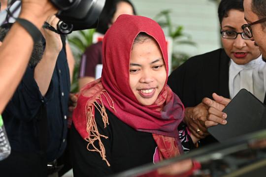 Trả tự do cho nghi phạm Indonesia trong vụ án Kim Jong Nam bị đầu độc