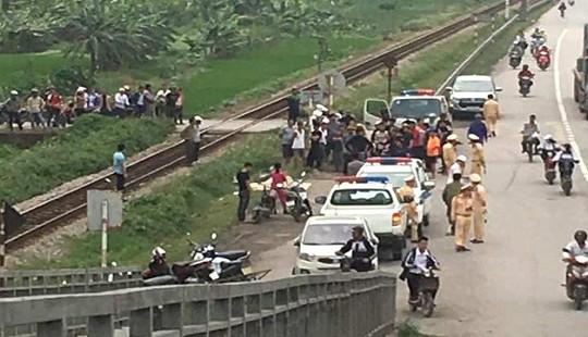 Bị đoàn tàu khách đâm, hai người phụ nữ tử vong