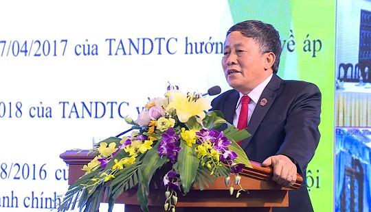 """TANDTC tổ chức tập huấn chuyên đề """"Luật tố tụng hành chính"""""""