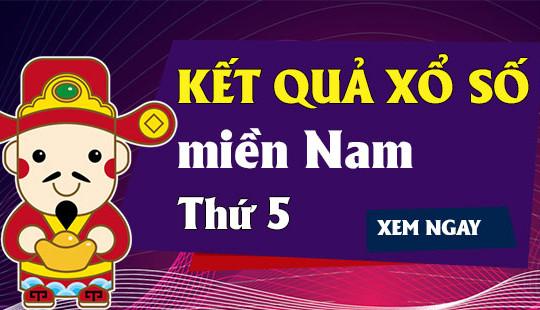 KQXSMN thứ 5 – XSMN T5 – Kết quả xổ số miền Nam ngày thứ 5 hàng tuần
