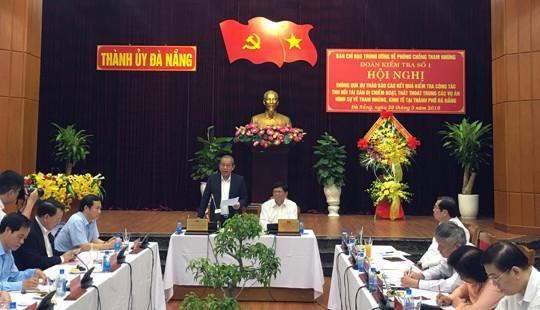 Phó Thủ tưởng Trương Hòa Bình: Đà Nẵng cần xác định công tác thu hồi tài sản thất thoát là nhiệm vụ trọng tâm